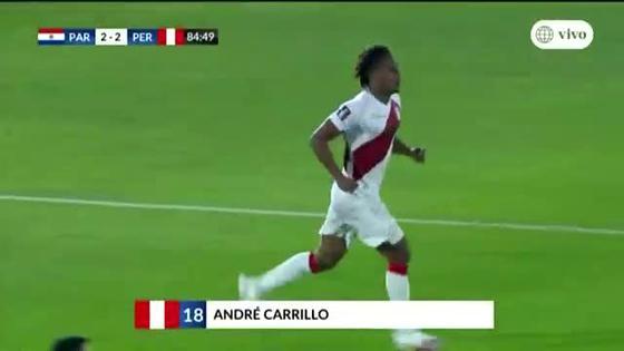 Peru Vs Paraguay Andre Carrillo Volvio A Aparecer Para Empate 2 2 Video Futbol Peruano El Bocon