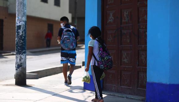 El Ministro de Energía y Minas confirmó que se les dará un bono a los niños huérfanos. (Fotos: Hugo Curotto/GEC)