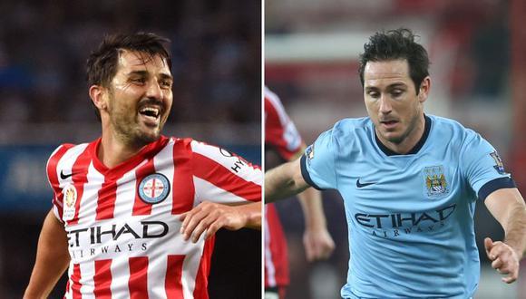 Andrés Mendoza jugará junto a David Villa y Frank Lampard en el New York City