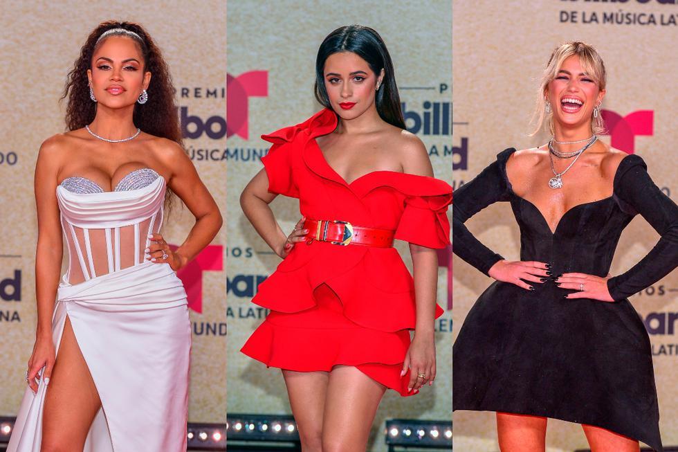 La ceremonia de los Billboard Latin Music Awards 2021 se realizó en el Watsco Center en Miami y reunió a distintas personalidades de la industria de la música. (Foto: EFE).