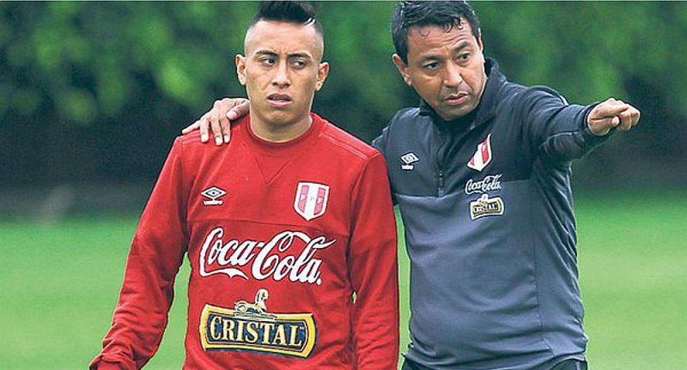Selección peruana: Christian Cueva quedó impactado con este jugador