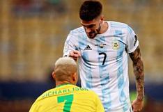 De Paul respondió las burlas de Brasil por la eliminación de Argentina en Tokio 2020   FOTO
