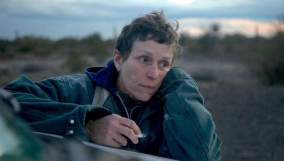 """Frances McDormand gana su tercer premio Oscar gracias a su papel en """"Nomadland"""". (Foto: Searchlight Pictures)"""