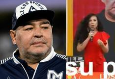 Janet Barboza asegura que Maradona llevó 3 veces al mundial a la selección de Brasil