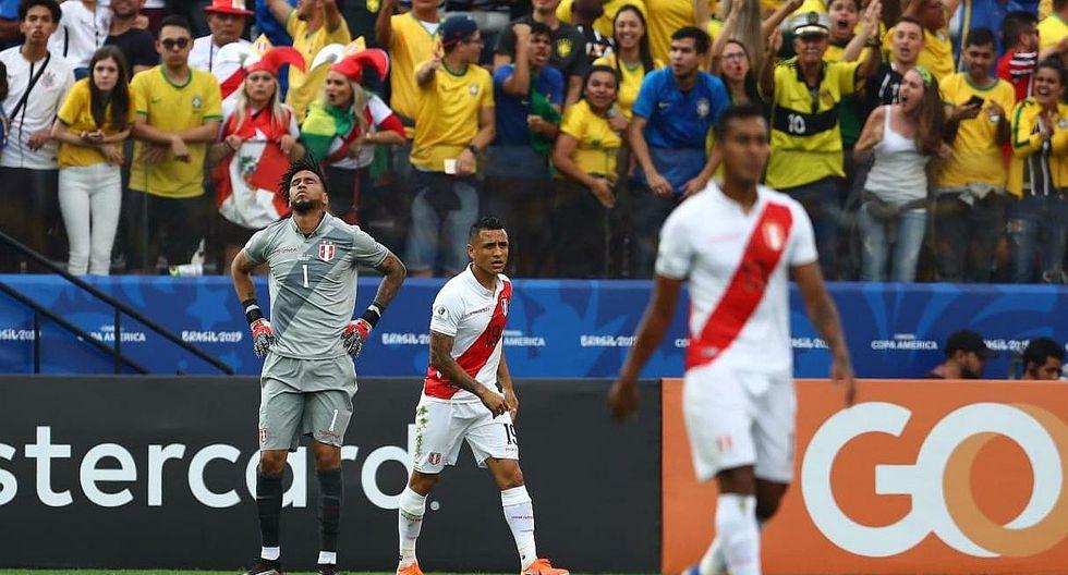 Selección peruana | En Chile informan de peculiar manera la caída de la blanquirroja ante Brasil | FOTO