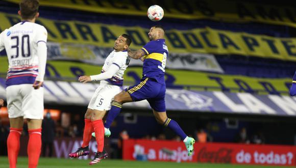Boca Juniors perdió 2-0 ante San Lorenzo en la Bombonera.