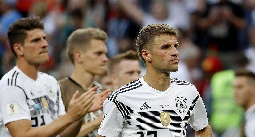 Rusia 2018: La estadística que dejaría eliminado a Alemania en primera fase