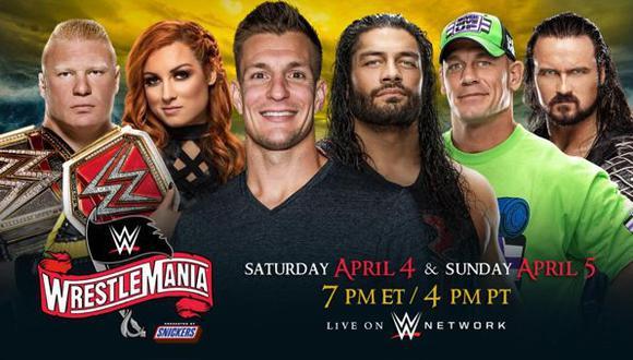 Coronavirus | WWE anuncia fechas de WrestleMania 36 sin público por el COVID-19