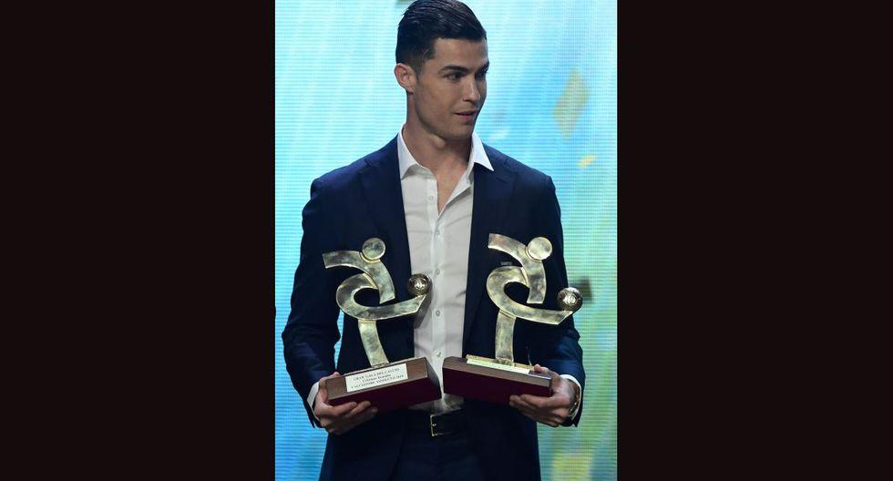 Cristiano Ronaldo fue elegido mejor jugador de la Serie A. (Foto: AFP)