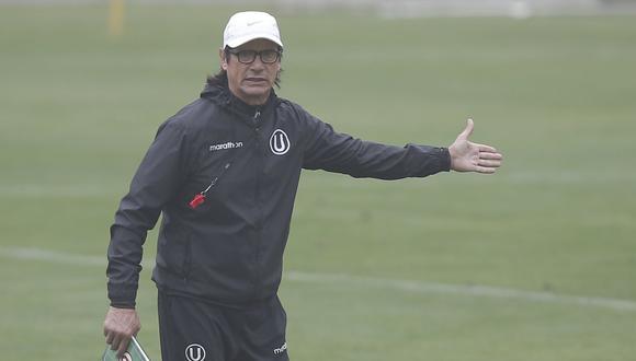 Ángel Comizzo se refirió a los incidentes que provocaron la suspensión de la Liga 1. (Foto: GEC)