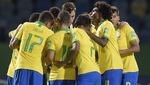 Brasil vs. Chile: chocan por el pase a cuartos de final del Mundial Sub 17. (Foto: @CBF_Futebol)