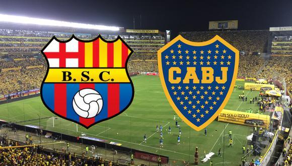 Boca y Barcelona SC se enfrentan en el Monumental Isidro Romero Carbo por la jornada 3 del Grupo C de la Copa Libertadores 2021. Sigue el MINUTO A MINUTO del partido.
