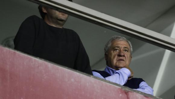 Amor Ameal asumió en diciembre de 2019 y había presidido Boca Juniors de 2008 a 2011 tras el fallecimiento de Pedro Pompilio. (Foto: AFP)