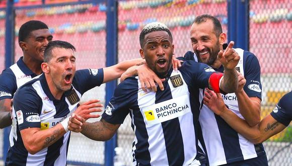 Jefferson Farfán logra la remontada de Alianza ante Binacional  (Foto: Liga 1)