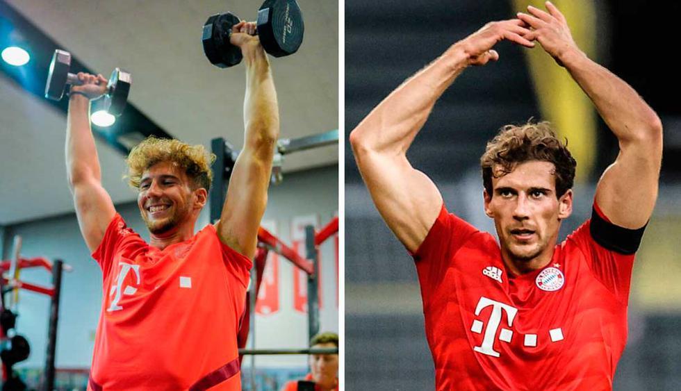 Este es el radical cambio de Leon Goretzka que mostró Bayern Múnich en Twitter. (Foto: Twitter Bayern Múnich)