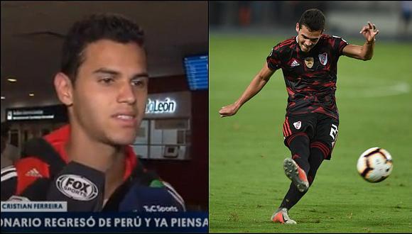 Cristian Ferreira revela detalles previos a su golazo ante Alianza Lima