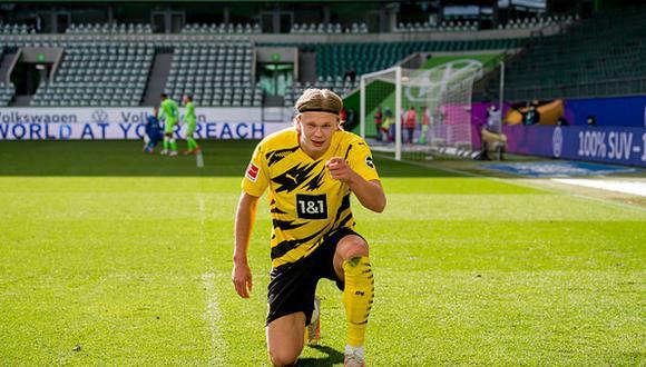 Erling Haaland tiene contrato con el Dortmund hasta el verano de 2024. (Foto: Getty Images)
