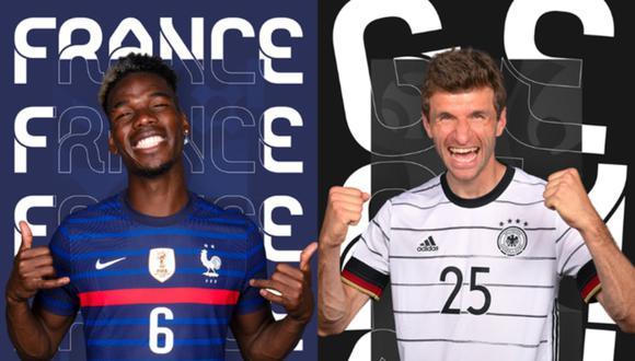 Francia vs. Alemania EN VIVO ONLINE | Sigue el partido por la fecha 1 del grupo F de la Eurocopa 2020 desde el estadio Allianz Arena de Múnich.