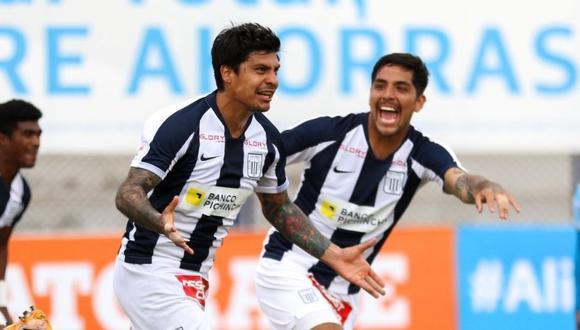 Patricio Rubio llegó a Alianza Lima a mediados del 2020. (Foto: Liga 1)