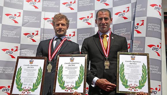 Laureles Deportivos: IPD premió a Alexander Zimmermann y Eduardo Linares