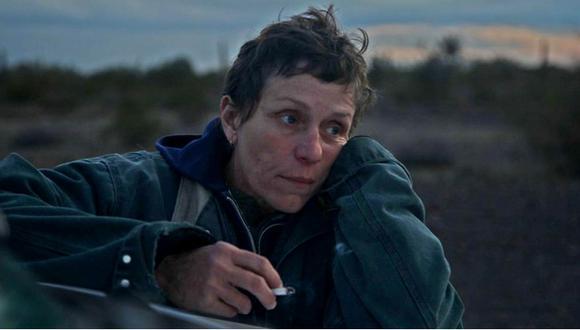 Frances McDormand. La actriz estadounidense, ganadora de dos premios Oscar, volvió a sorprender al mundo gracias a su participación en 'Nomadland'. (Foto: 20th Century Studios)
