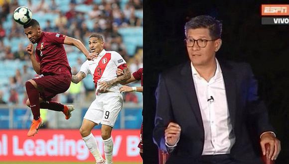 Selección peruana   Erick Osores hace polémico comentario sobre Perú tras empate ante Venezuela   VIDEO