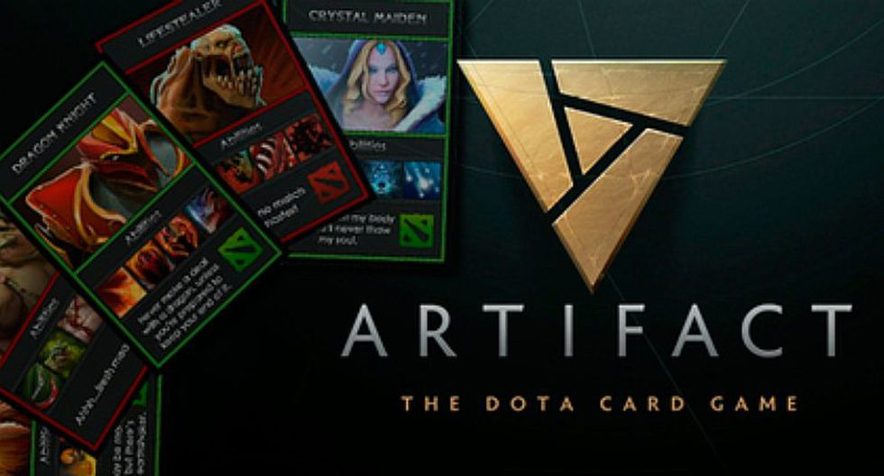 Así luce Artifact, el juego de cartas de Dota 2 [VIDEO]