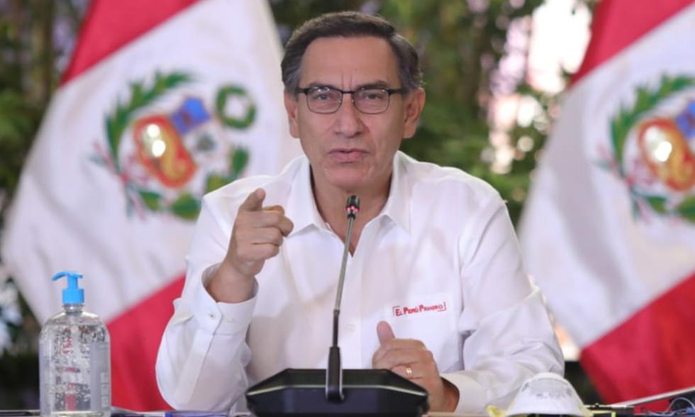Sigue En Directo todas las cifras que lance Martín Vizcarra. | Foto: Presidencia Perú