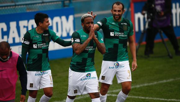 Jefferson Farfán le dio el triunfo a Alianza Lima ante César Vallejo.   Fotos: Fernando Sangama / @photo.gec