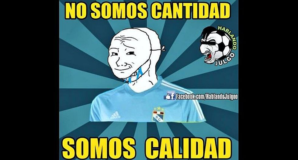 Sporting Cristal: memes se burlan de su derrota ante Lanús [FOTOS]