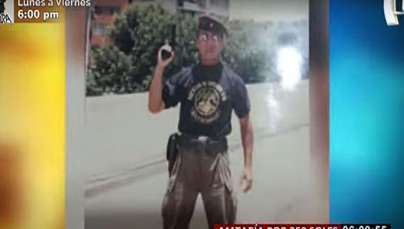 Luciano Díaz Fukumoto, héroe del Cenepa, fue asesinado por joven de 18 años en Ventanilla. (Captura: Buenos Días Perú)