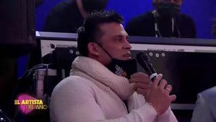"El Artista del año: Christian Domínguez a Pamela Franco ""Estoy orgulloso"""
