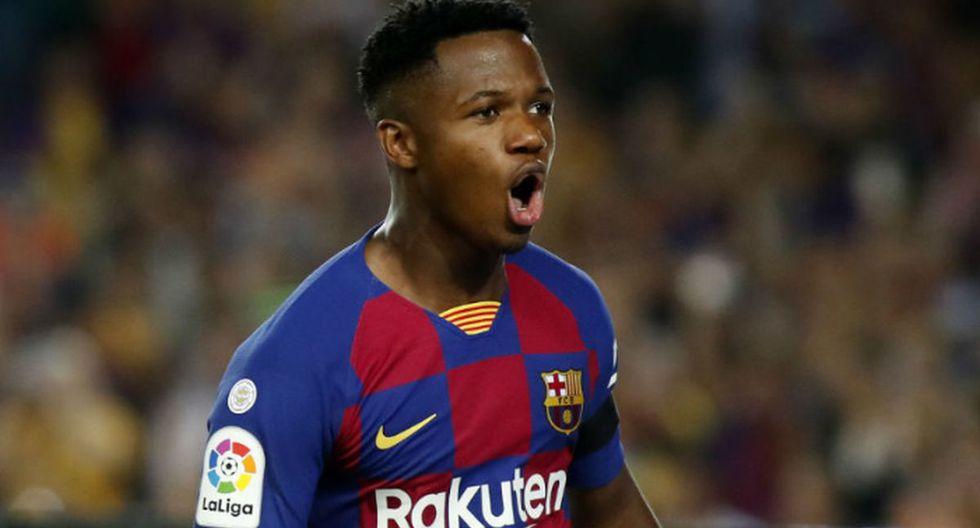 Ansu Fati es una de las jóvenes promesas del fútbol español, y actualmente milita en el Barcelona. (Foto: Agencias)