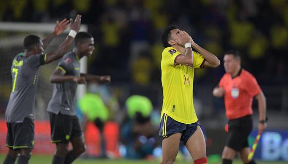 Ecuador consiguió un valioso empate en su visita a Colombia | Foto: AFP