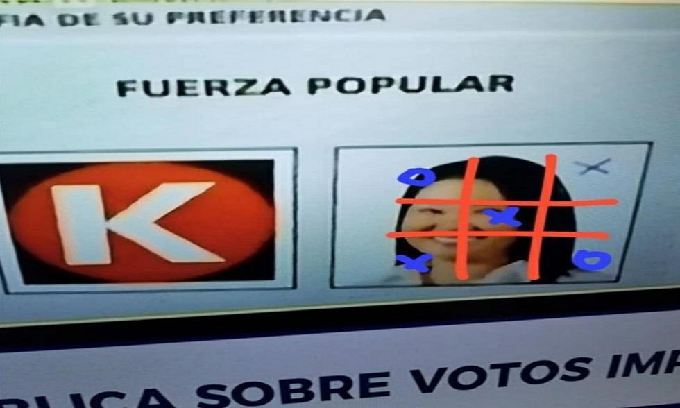 Votos impugnados