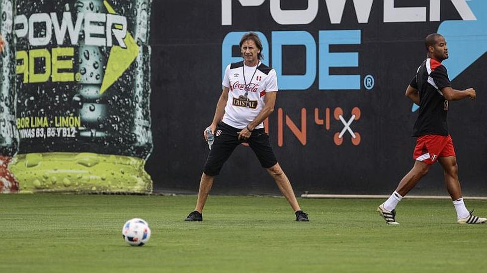Selección peruana: Las mejores imágenes de la práctica de hoy