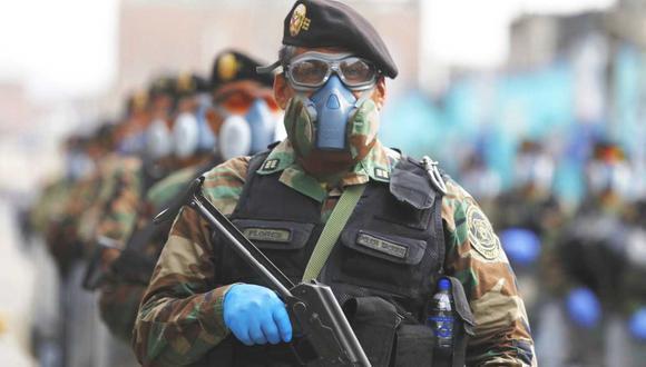 Unos 500 policías brindarán seguridad durante debate entre equipos técnicos de Perú Libre y Fuerza Popular convocado por el JNE. (Foto: GEC)