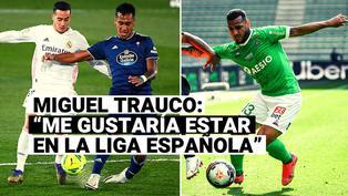 """Miguel Trauco piensa seguir los pasos de Tapia: """"Me gustaría estar en la Liga española"""""""