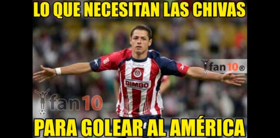 Los mejores memes de la goleada 3-0 de las Águilas. (Fotos: Facebook)