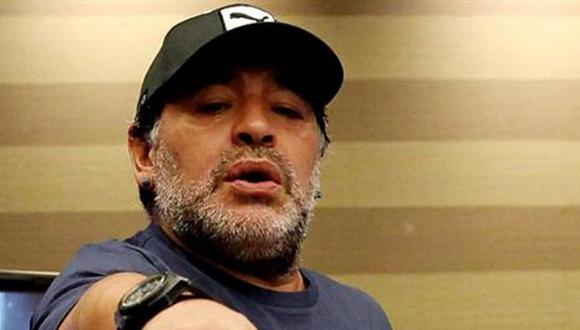 Maradona cuestiona la posible reelección de Joseph Blatter en la FIFA