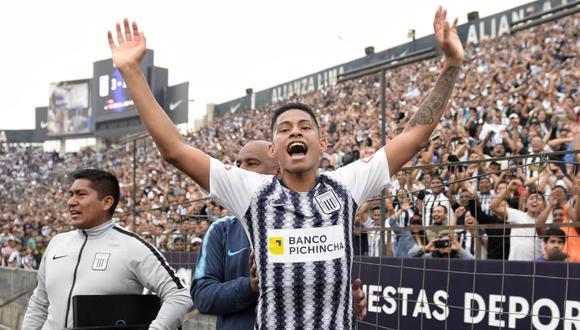 Kevin Quevedo es el máximo goleador de Alianza Lima en el 2019 con 17 goles | Foto: El Bocón