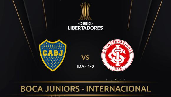 Boca Juniors recibe este miércoles a Internacional en La Bombonera por la vuelta de los octavos de final de la Copa Libertadores de América