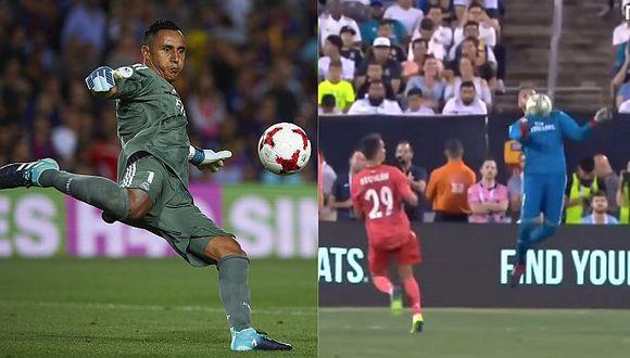 La jugada con la que Keylor Navas pide ser titular en Real Madrid