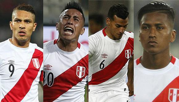 Cuatro peruanos entre los mejores 500 futbolistas del mundo [FOTO]
