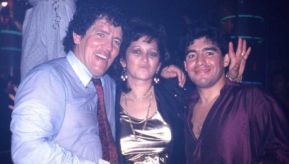 Diego Maradona y el día que le cantó 'Las Mañanitas' a Ramón Mifflin por sus 40 años | VIDEO