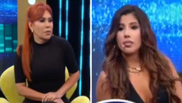 "Yahaira Plasencia y Magaly Medina se dijeron sus ""verdades"" en tensa entrevista. (Foto: Captura ATV)."