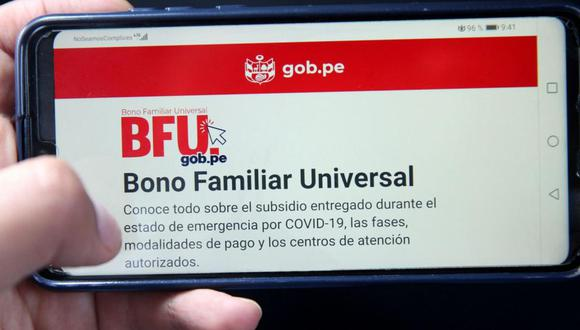 Este subsidio está dirigido a 8.4 millones de hogares peruanos afectados por la crisis económica que desató la pandemia del coronavirus y su reparto consta de cinco fases.