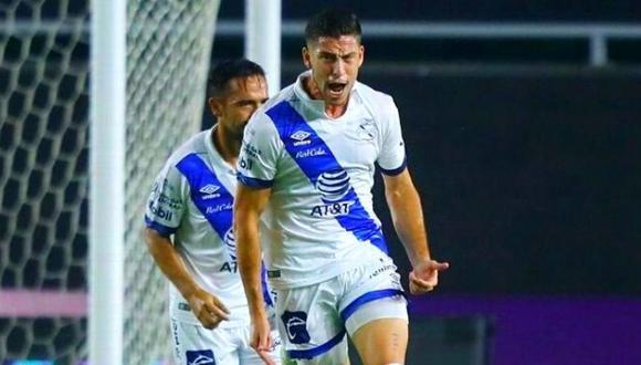 Santiago Ormeño lleva tres goles anotados en este Apertura 2020 Liga MX. (Foto: Puebla)