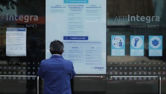 Este 24 de diciembre también podrás enviar tu solicitud de retiro de AFP. Revisa aquí si cumples con los requisitos para pedir la devolución de tu dinero HOY. (Foto: Leandro Britto / GEC)