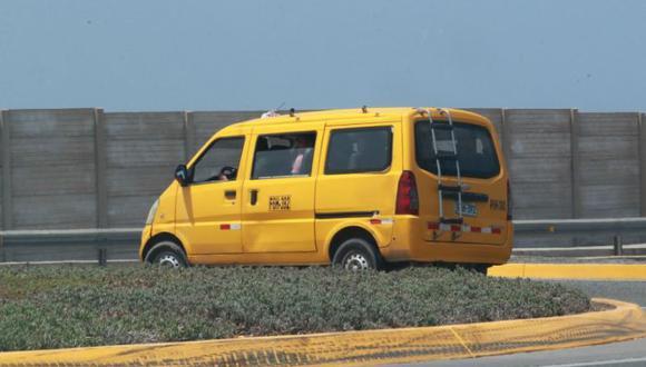 Ley que dispone el transporte interprovincial de taxis colectivos tiene una vigencia de cuatro años, prorrogables por un plazo máximo de tres años. (Foto: GEC)